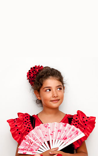 Kinder-flamencokusrse in Wiesbaden